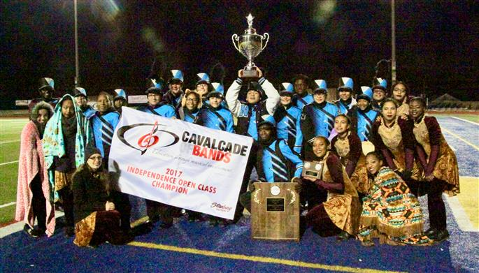 Saturday, November 11 was the North High School Competitive Marching Band's last performance in the 2017 Cavalcade of Bands Independence Open Championship Competition.