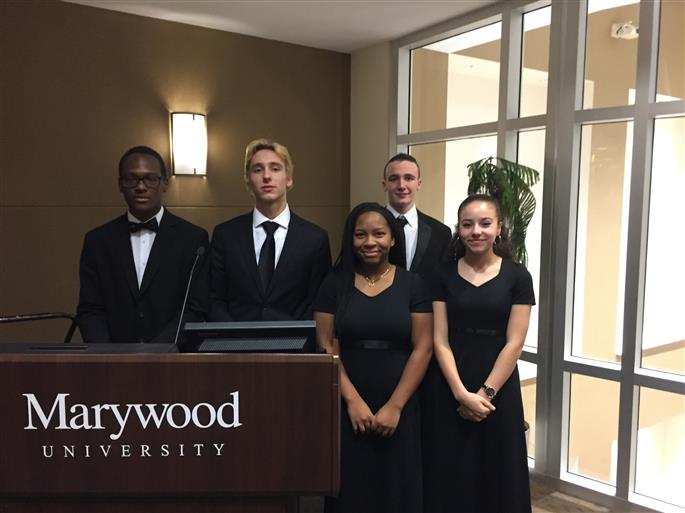 Marywood University Senior Wind Band Celebration