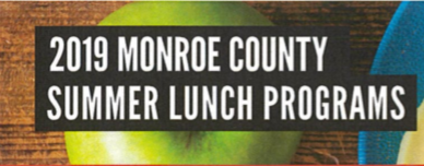 Monroe County Summer Lunch Programs