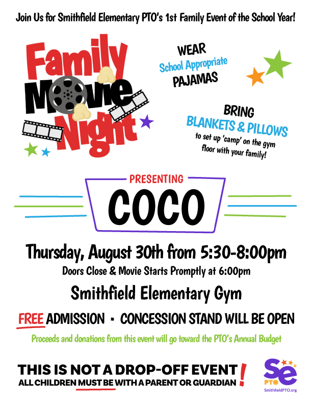 PTO Family Movie Night