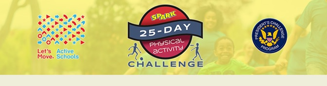 We are very excited to see so many children participating in the Spark 25-Day Challenge!